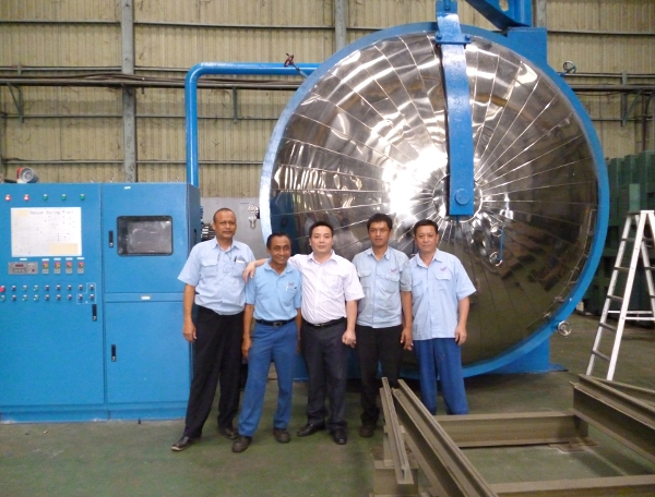 Exported to Indonesia vacuum drying equipment