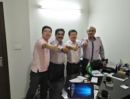 Pakistan cooperative customers